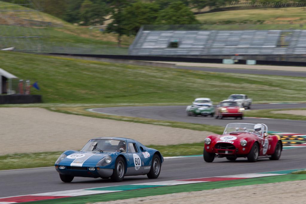 Porsche 904 - Chassis: 904-027 - Driver: Jean Marc Bussolini  - 2014 Mugello Classic
