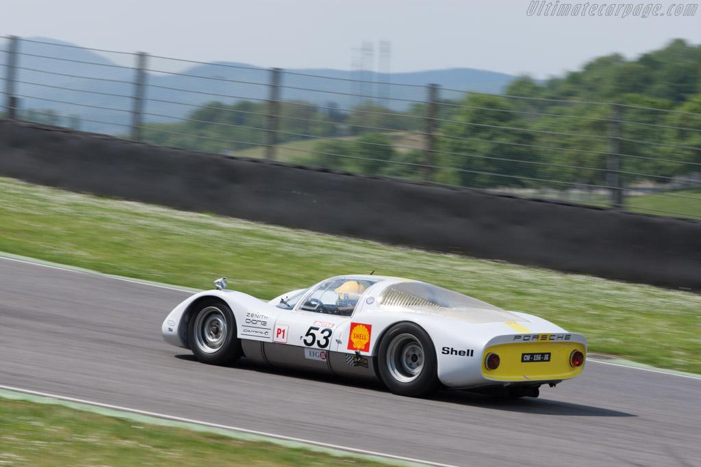 Porsche 906 - Chassis: 906-104 - Driver: Pierre Perret  - 2014 Mugello Classic