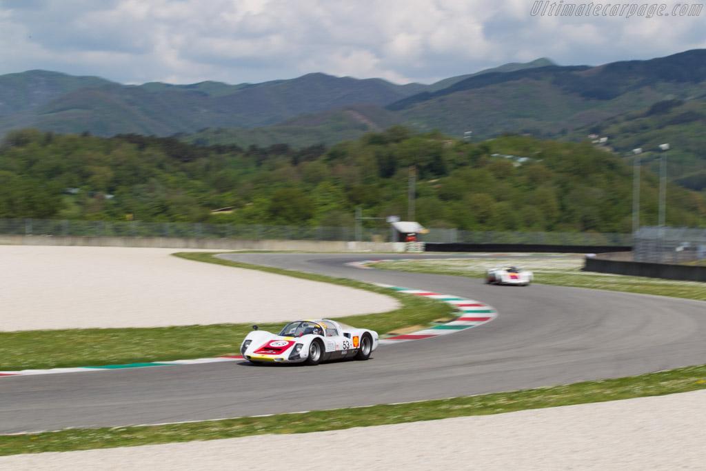 Porsche 906  - Driver: Pierre Perret  - 2014 Mugello Classic