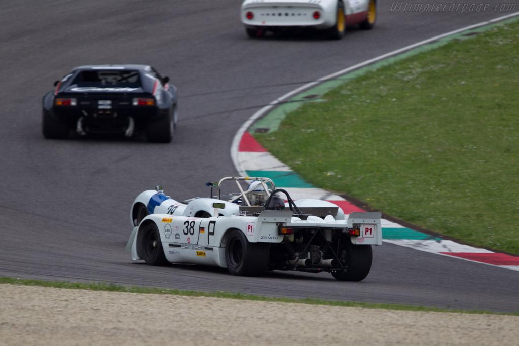 Porsche 908/2 - Chassis: 908/02-018 - Driver: Robert Fink  - 2014 Mugello Classic