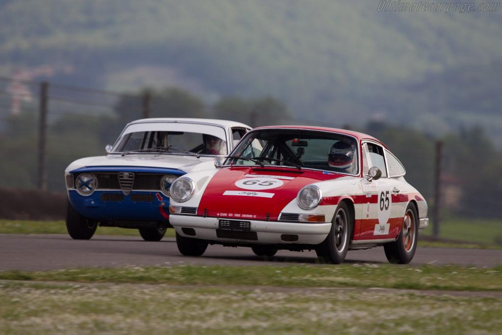 Porsche 911  - Driver: Philippe Scecama / Yves Scecama  - 2014 Mugello Classic