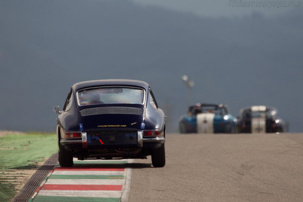 Porsche 911  - Driver: Francisco Sa Carneiro  - 2014 Mugello Classic