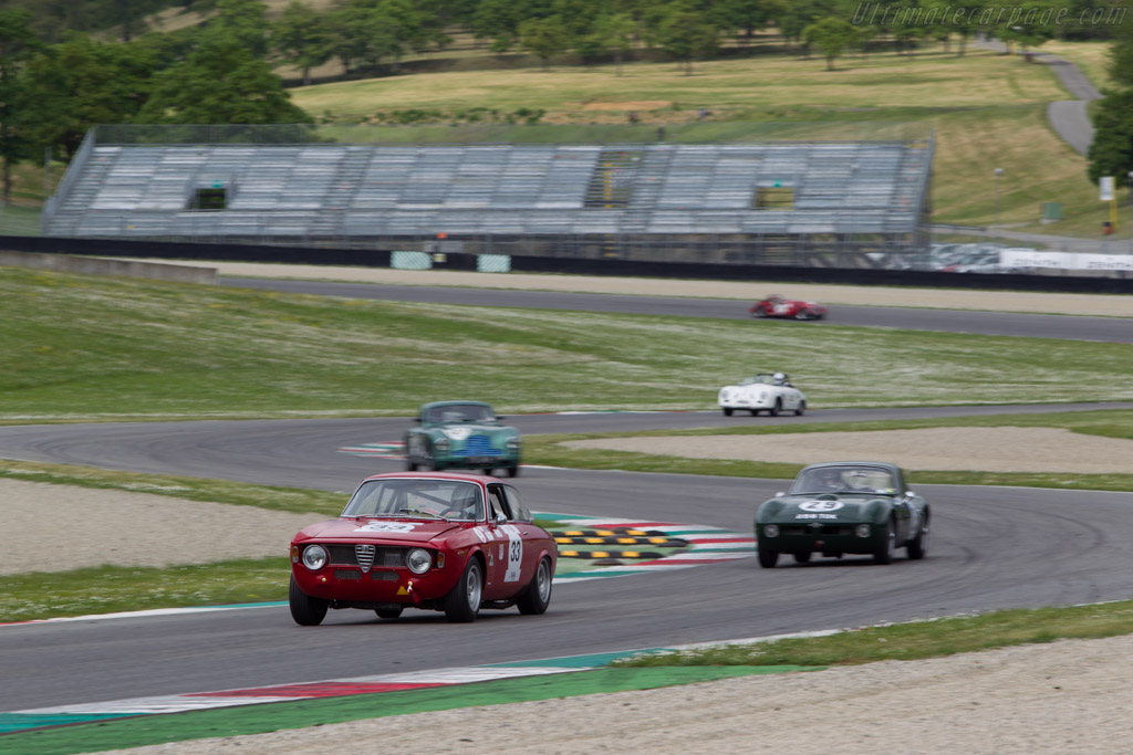 Porsche 911  - Driver: Eric Lecluse / Didier Braye  - 2014 Mugello Classic