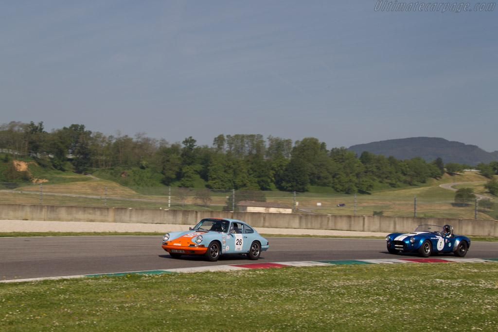 Porsche 911  - Driver: Bertrand Penlae / Claude le Jean  - 2014 Mugello Classic