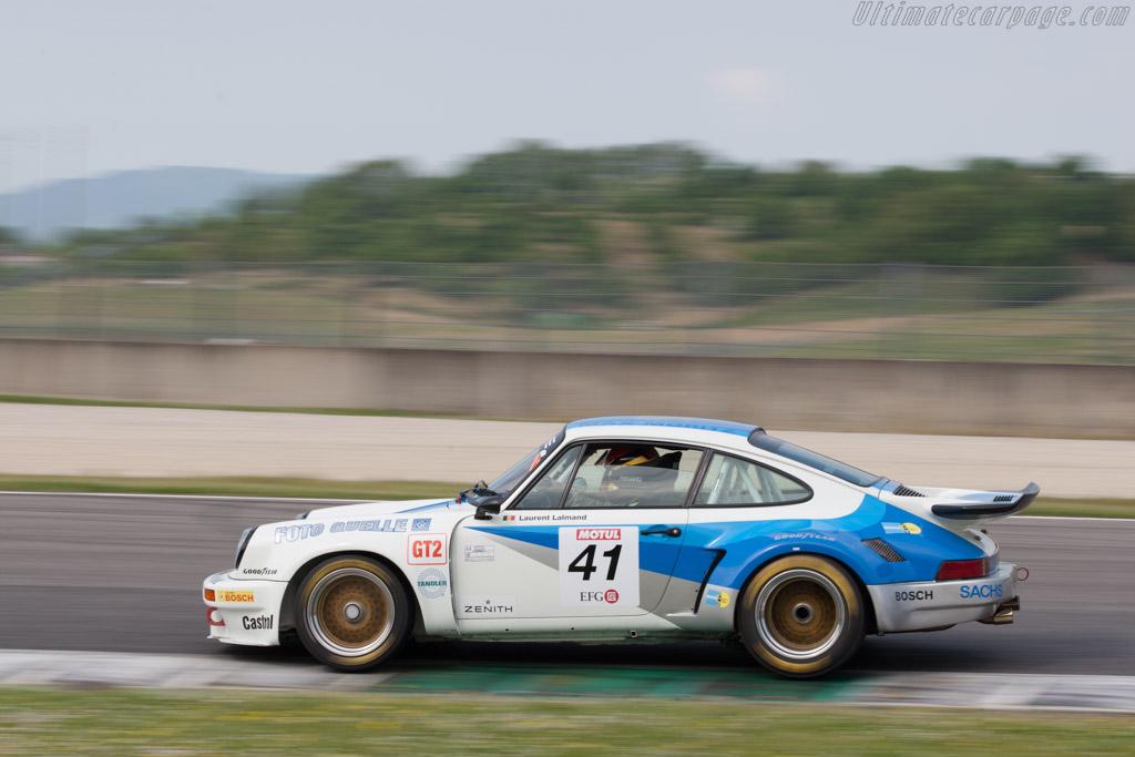 Porsche 911 Carrera RSR 3.0  - Driver: Laurent Lalmand  - 2014 Mugello Classic
