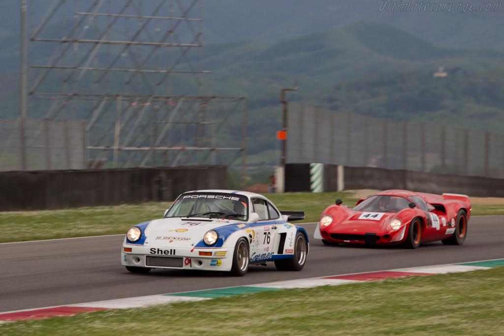 Porsche 911 Carrera RSR 3.0  - Driver: Jurgen Barth  - 2014 Mugello Classic