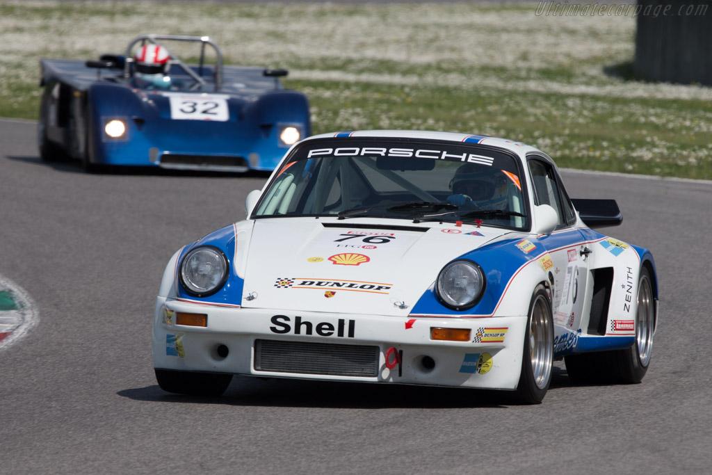 Porsche 911 Carrera RSR 3.0  - Driver: Hans Joerg Hubner  - 2014 Mugello Classic