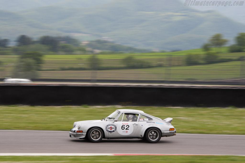 Porsche 911 Carrera RSR - Chassis: 911 360 0001 - Driver: Claudio Roddaro  - 2014 Mugello Classic