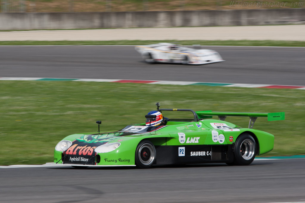 Sauber C5 BMW - Chassis: C05.004 - Driver: Yves Scecama  - 2014 Mugello Classic