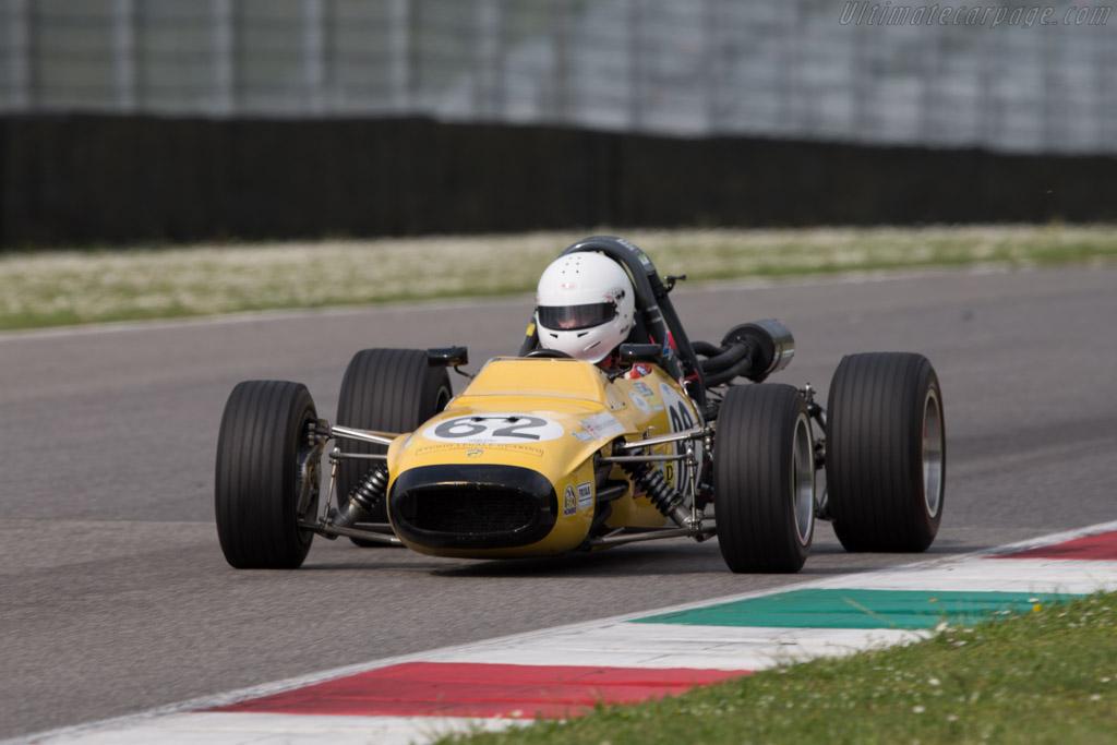 Tecno 69 F3  - Driver: Geoff O'Nion  - 2014 Mugello Classic