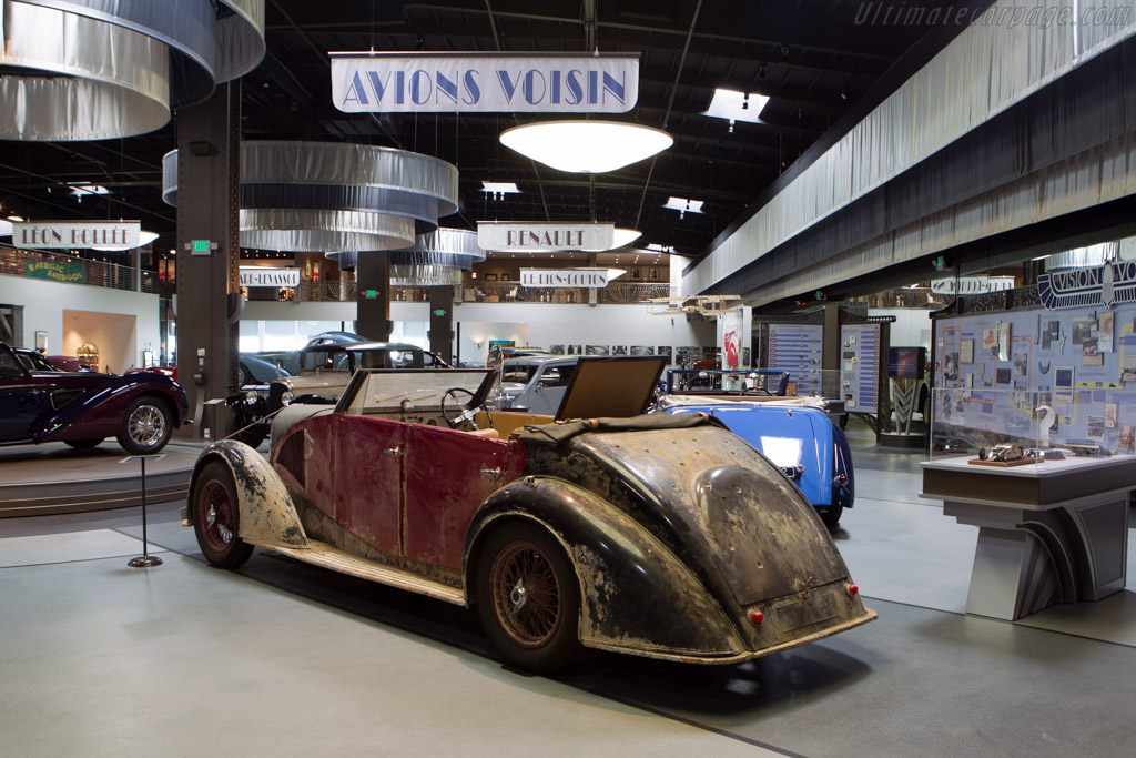 Voisin C28 Sahara Chassis N A Mullin Automotive Museum