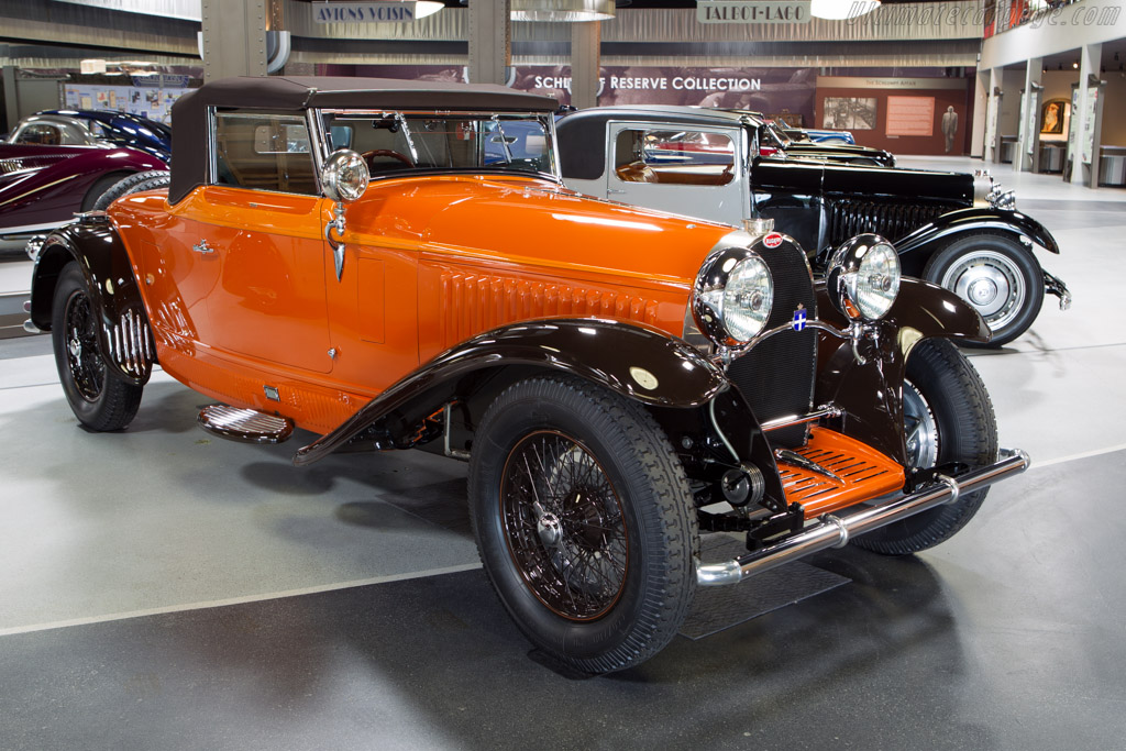 Bugatti Type 46 de Villars Cabriolet - Chassis: 46360   - Mullin Automotive Museum