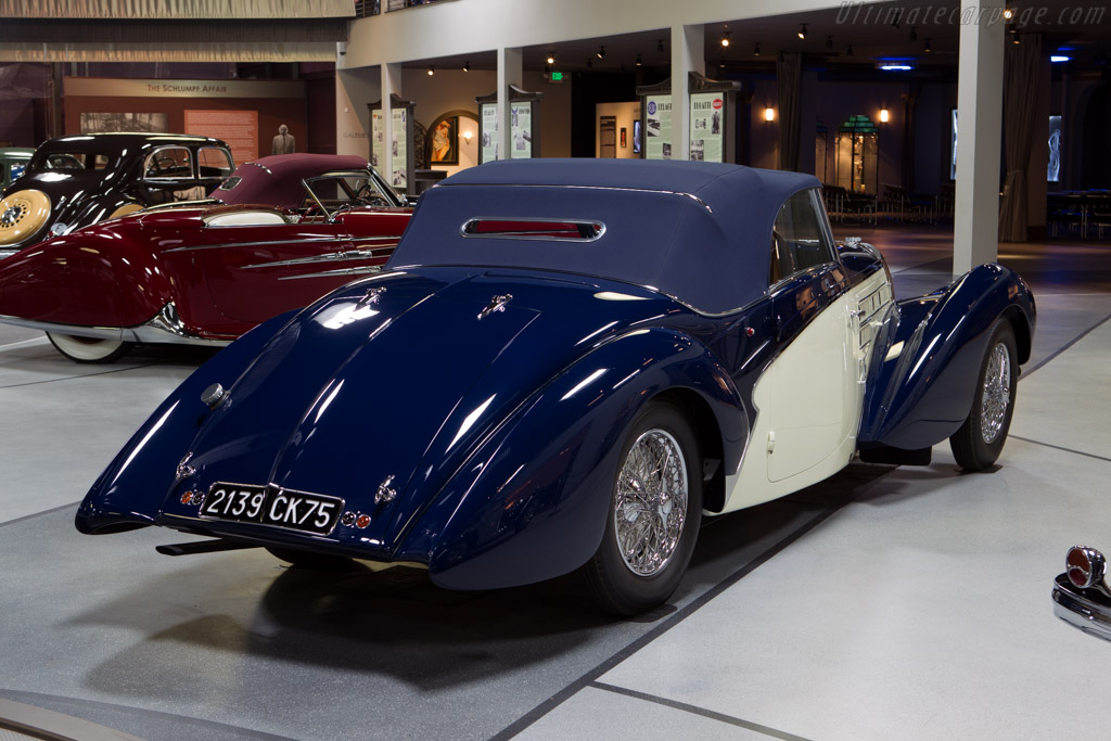 bugatti type 57 c aravis cabriolet chassis 57768 mullin automotive museum. Black Bedroom Furniture Sets. Home Design Ideas