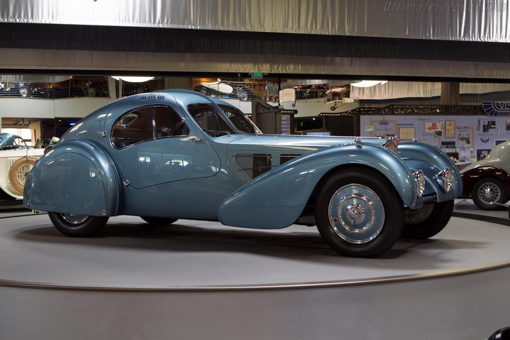 Bugatti Type 57 Sc Atlantic Chassis 57374 Mullin