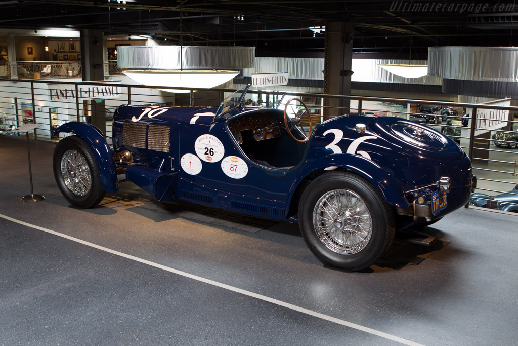 Bugatti Type 57 SC Competition - Chassis: 57492   - Mullin Automotive Museum