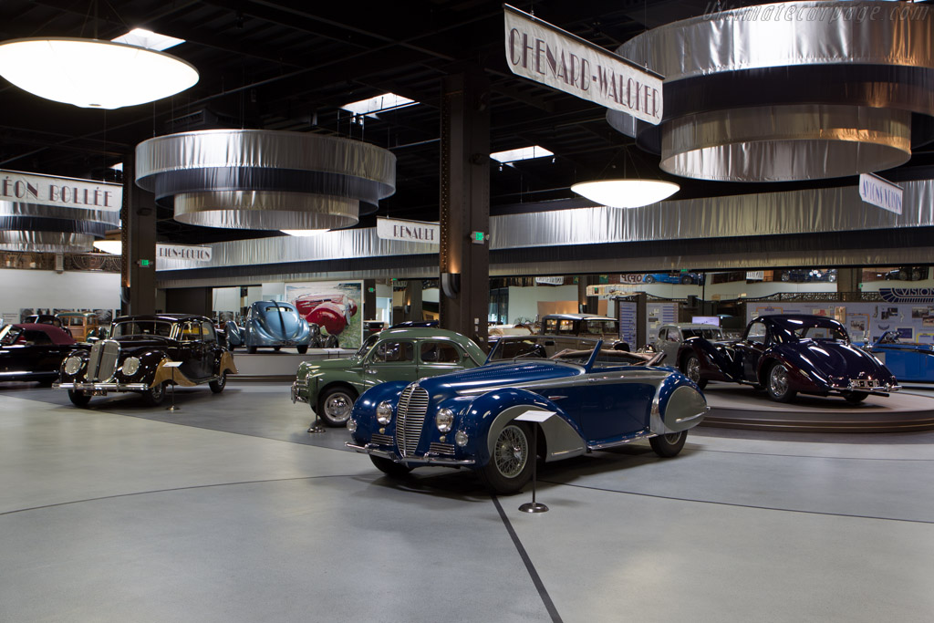 Delahaye 135 MS Chapron Cabriolet - Chassis: 800727   - Mullin Automotive Museum