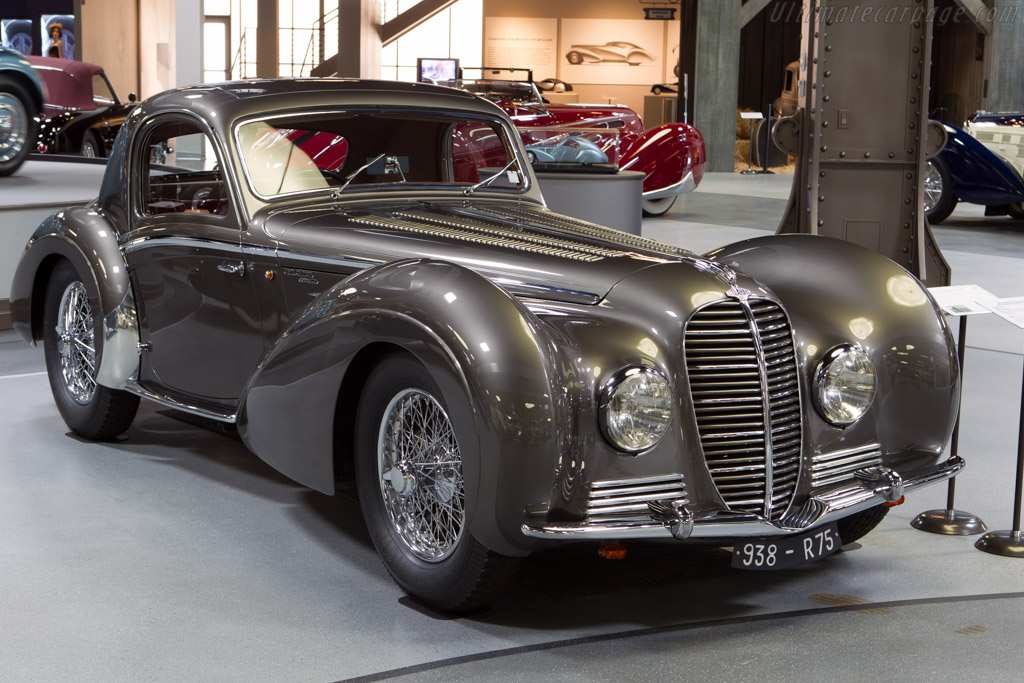 Delahaye 145 Chapron Coupe - Chassis: 48773   - Mullin Automotive Museum