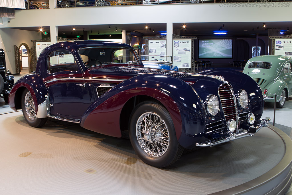 Delahaye 145 Chapron Coupe - Chassis: 48772   - Mullin Automotive Museum