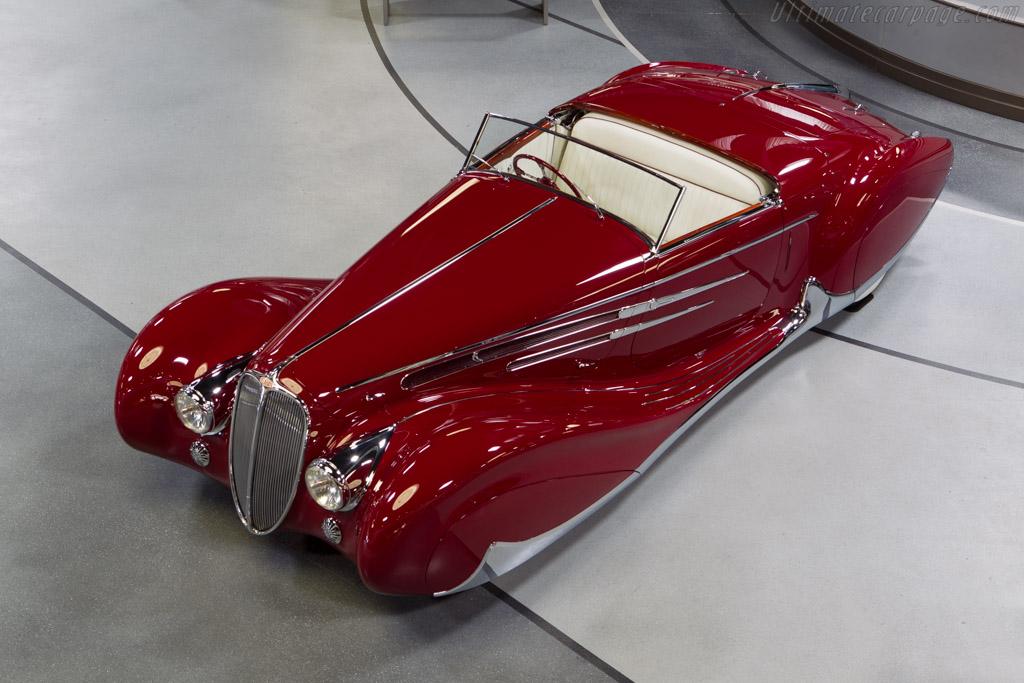 Delahaye 165 Figoni & Falaschi Cabriolet - Chassis: 60744   - Mullin Automotive Museum