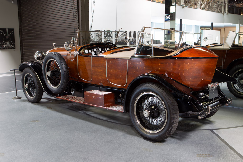 Hispano Suiza H6B Labourdette Skiff - Chassis: 12198   - Mullin Automotive Museum