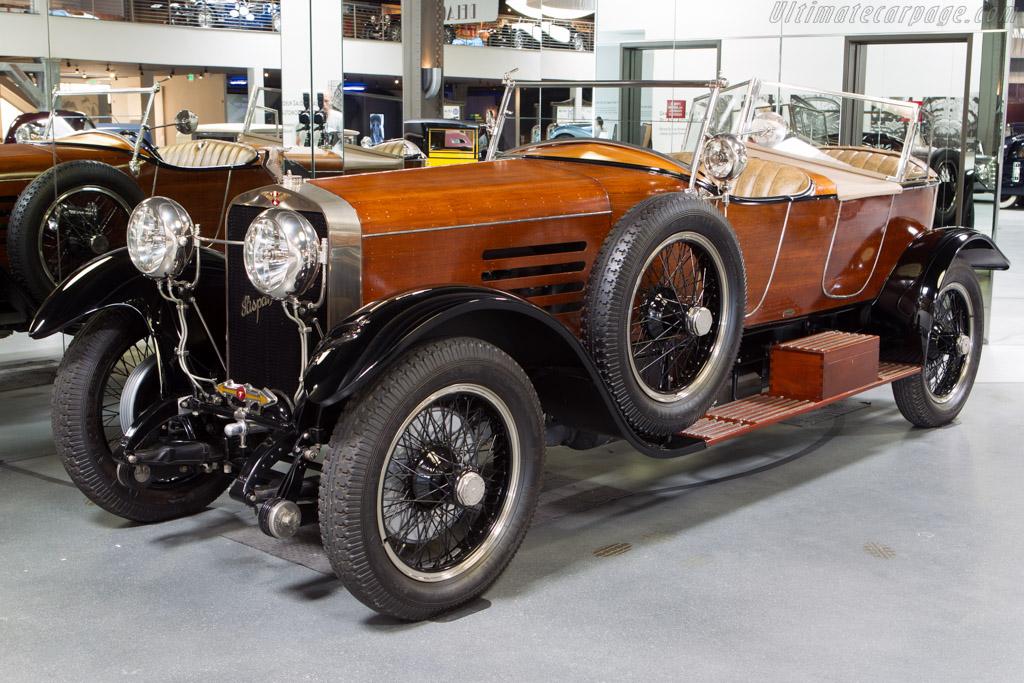 Hispano Suiza H6B Labourdette Skiff - Chassis: 12198   - Mullin Automotive Museum