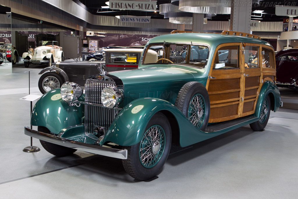 Hispano Suiza K6 Franay Break de Chasse - Chassis: 15121   - Mullin Automotive Museum
