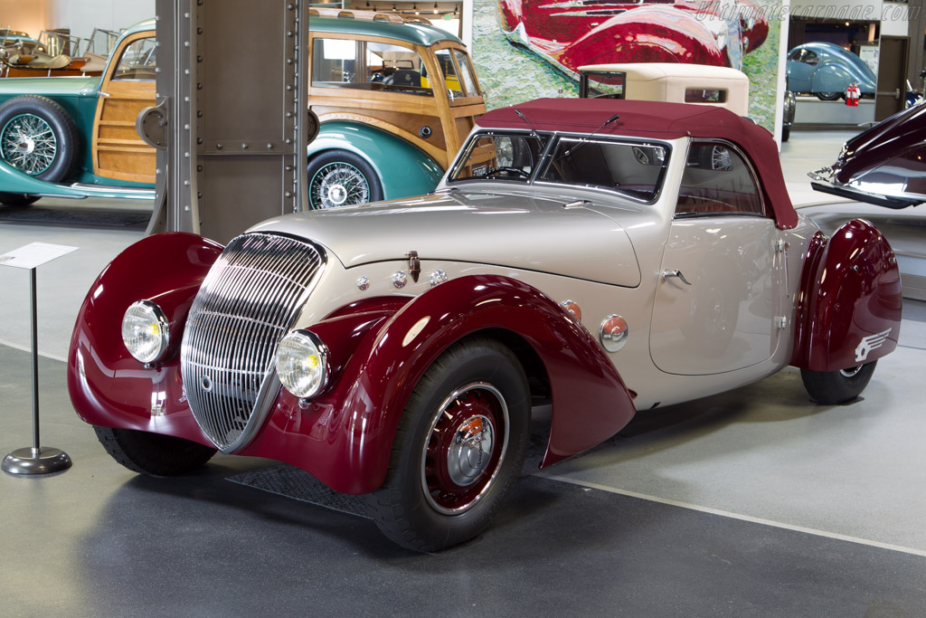 Peugeot 302DS Darl'Mat Cabriolet - Chassis: 705538   - Mullin Automotive Museum