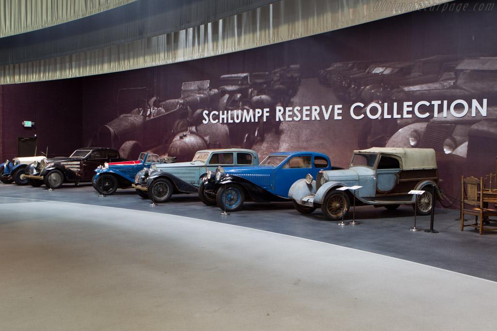 Schlumpf Reserve Collection    - Mullin Automotive Museum