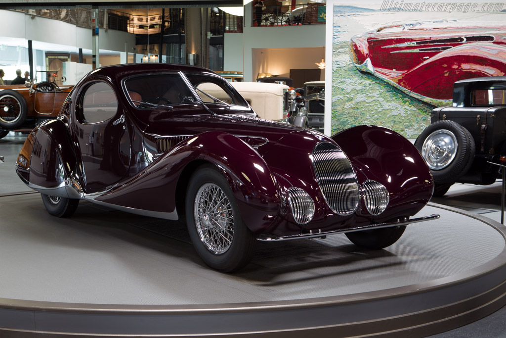 Talbot Lago T150C SS Teardrop Coupe - Chassis: 90106   - Mullin Automotive Museum