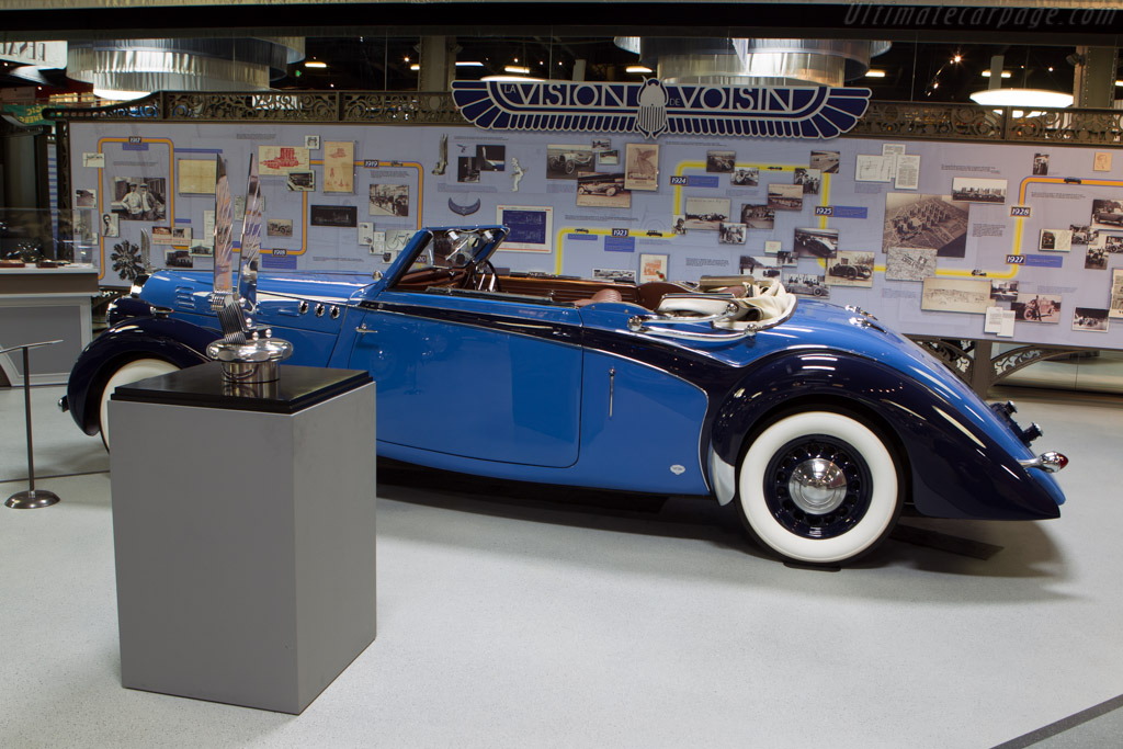 Voisin C30 Dubos Cabriolet - Chassis: 60007   - Mullin Automotive Museum