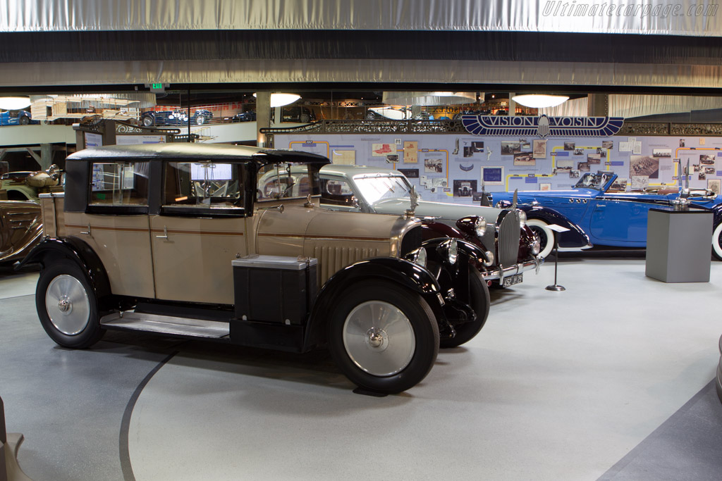 Voisin C7 Saloon - Chassis: 15262   - Mullin Automotive Museum