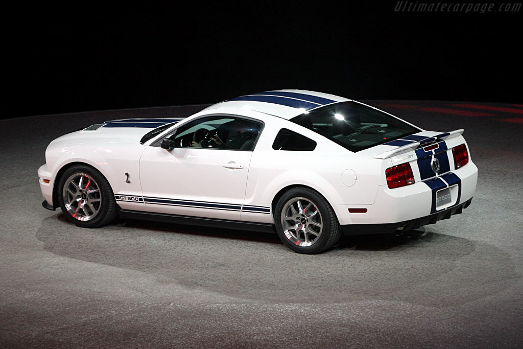 Ford Mustang GT500 Coupe - 2006 North American International Auto Show ...