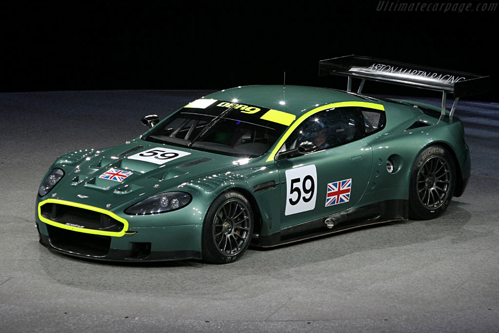 Racing In Car >> Aston Martin DBR9 - 2006 North American International Auto ...