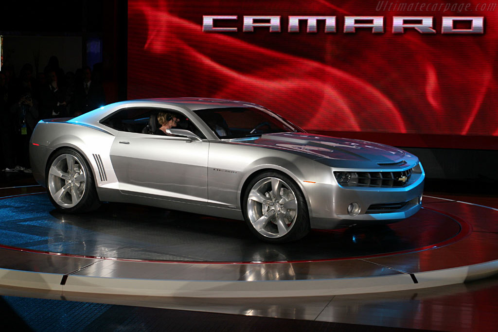 Chevrolet Camaro Concept    - 2006 North American International Auto Show (NAIAS)