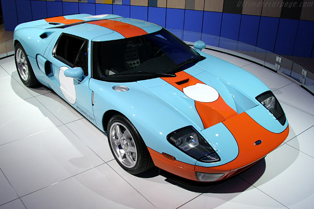 Ford GT Heritage Edition    - 2006 North American International Auto Show (NAIAS)