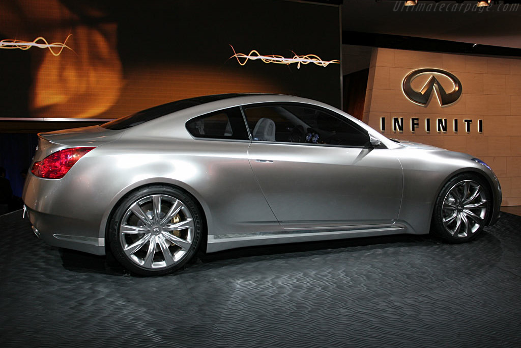 Infiniti Coupe Concept    - 2006 North American International Auto Show (NAIAS)