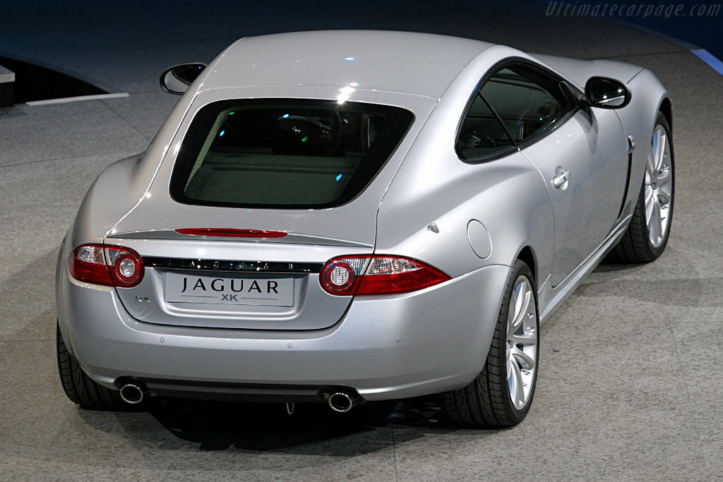 Jaguar XK Coupe    - 2006 North American International Auto Show (NAIAS)