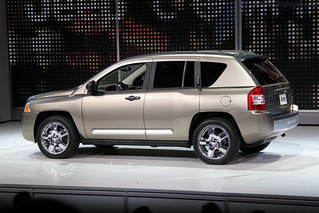 Jeep Compass    - 2006 North American International Auto Show (NAIAS)