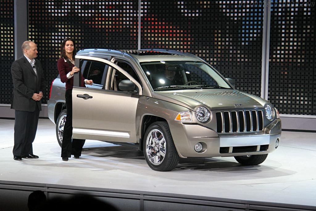 Jeep Compass    - 2006 North American International Auto Show (NAIAS)
