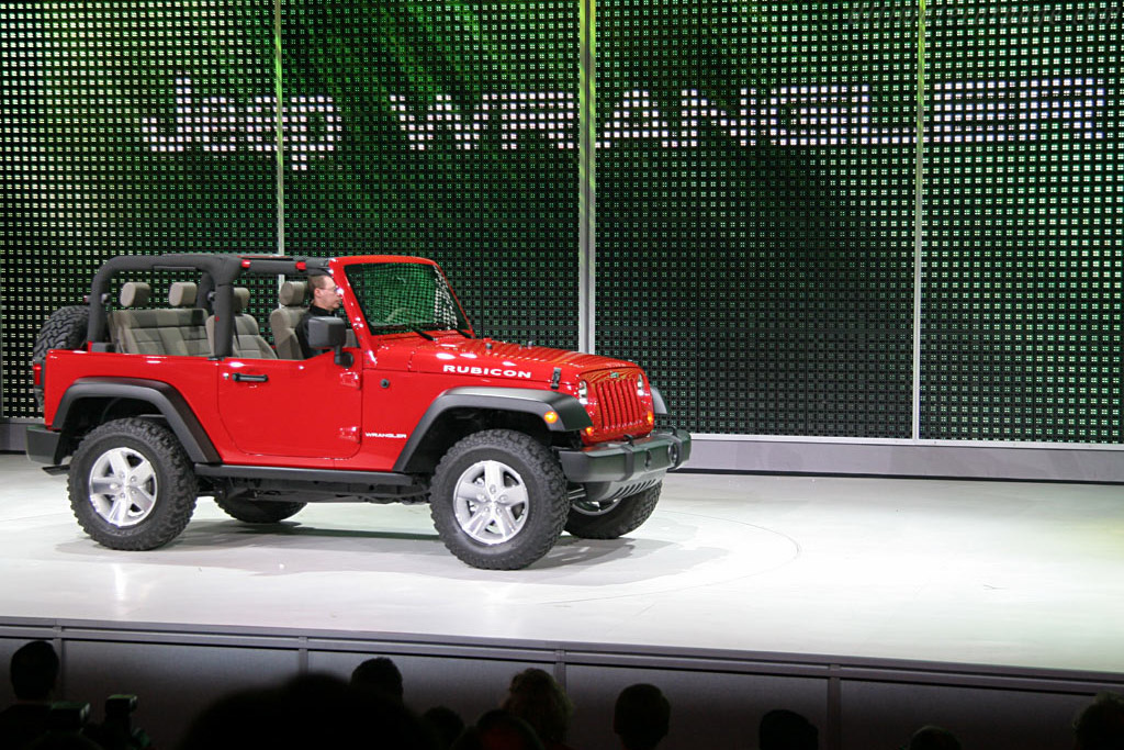 Jeep Wrangler    - 2006 North American International Auto Show (NAIAS)