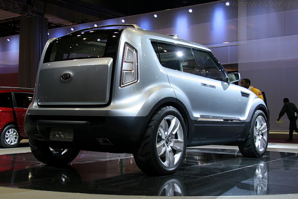 Kia Soul Concept    - 2006 North American International Auto Show (NAIAS)