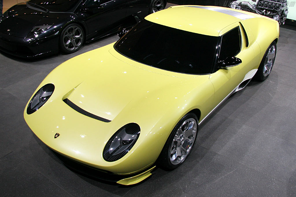 Lamborghini Miura Concept    - 2006 North American International Auto Show (NAIAS)