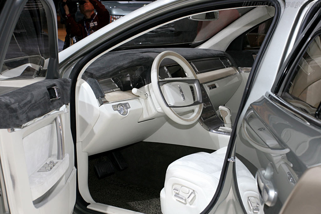 Lincoln MK S Concept    - 2006 North American International Auto Show (NAIAS)