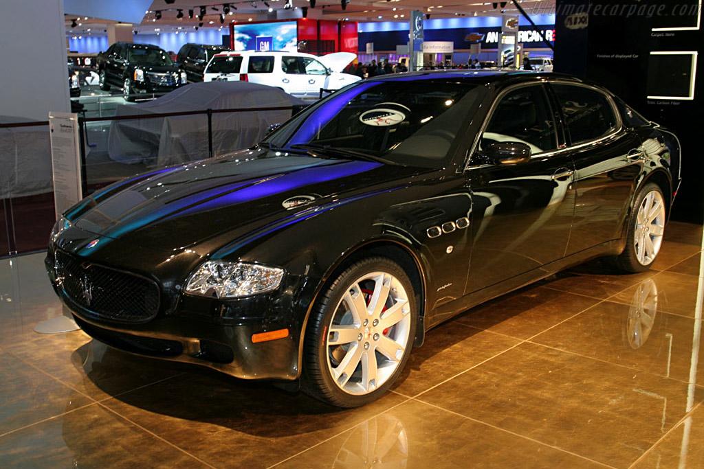 Maserati Quattroporte Sport    - 2006 North American International Auto Show (NAIAS)