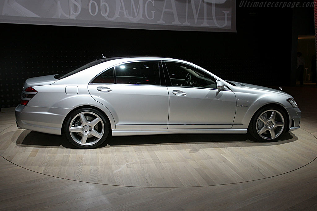 Mercedes-Benz S65 AMG    - 2006 North American International Auto Show (NAIAS)