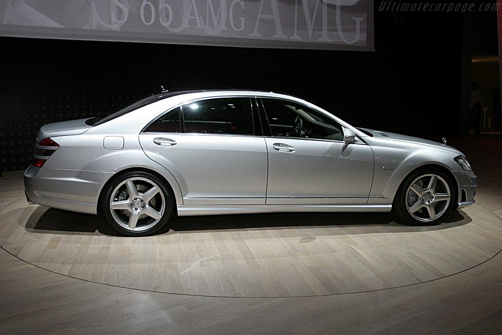 Mercedes-Benz S65 AMG    - 2006 North American International Auto Show (NAIAS)