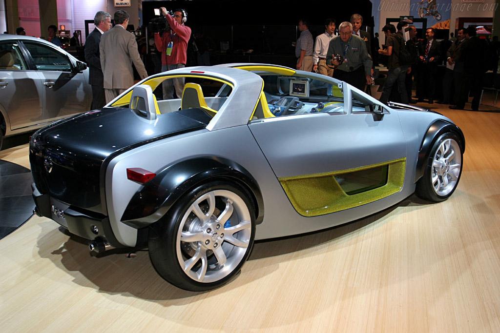Nissan Urge Concept    - 2006 North American International Auto Show (NAIAS)