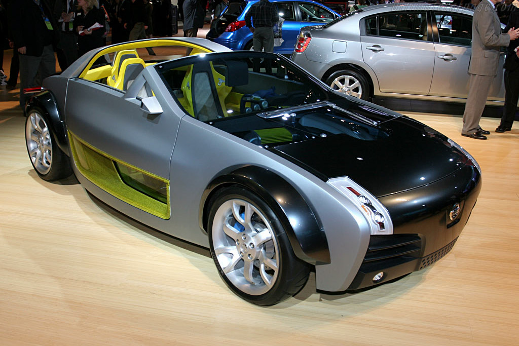 Nissan Urge Concept    - 2006 North American International Auto Show (NAIAS)