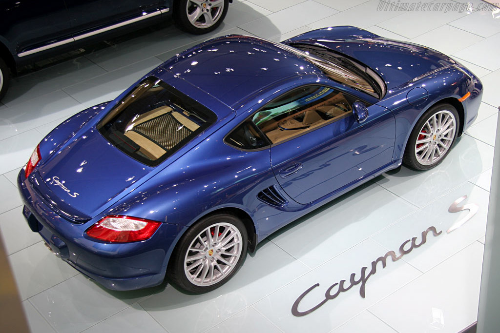 Porsche Cayman S    - 2006 North American International Auto Show (NAIAS)