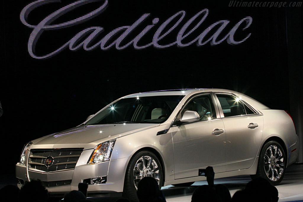 Cadillac cts 2007 north american international auto show naias